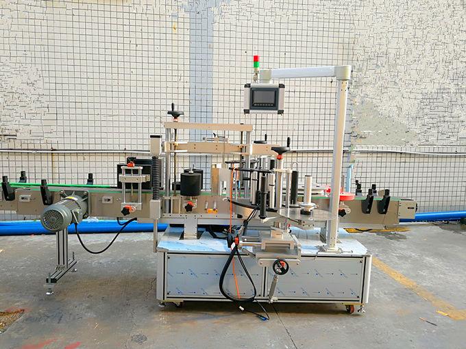 Fram- och baktryckskänslig självhäftande märkningsmaskin med importerad motor