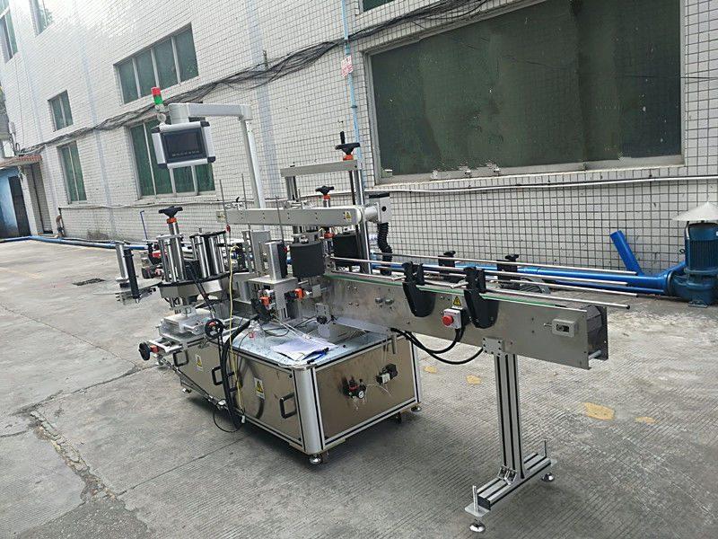 Kina Självhäftande klistermärke Dubbelsidig flaskmärkning Maskin Helautomatisk leverantör